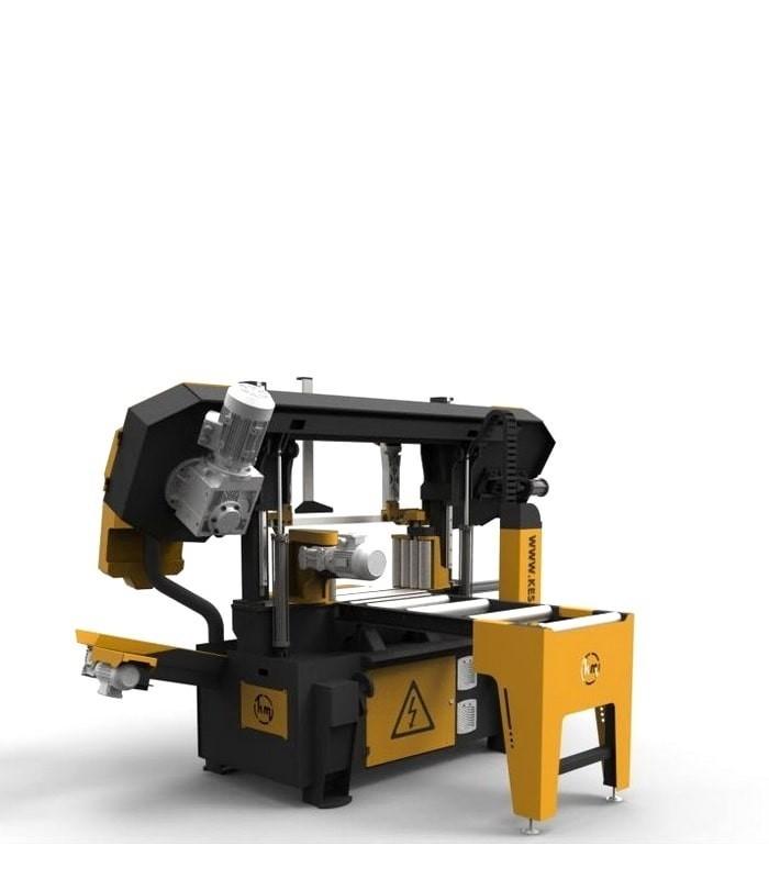 دستگاه اره نواری ستونی تمام اتوماتیک KLE 400 - 600
