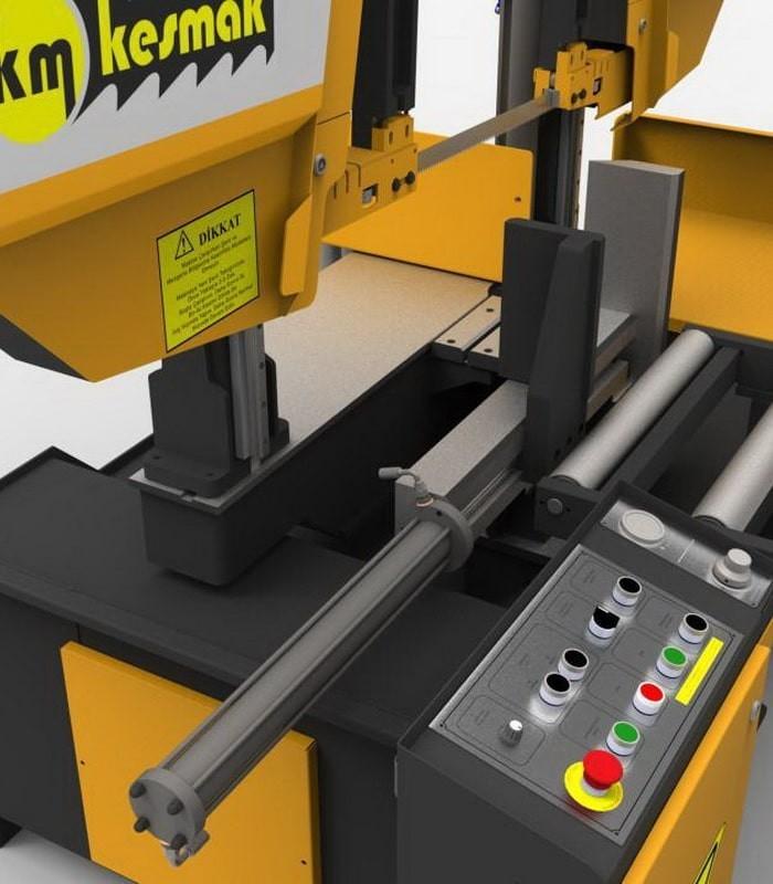 دستگاه اره نواری نیمه اتوماتیک زاویه زن KLY DG 420