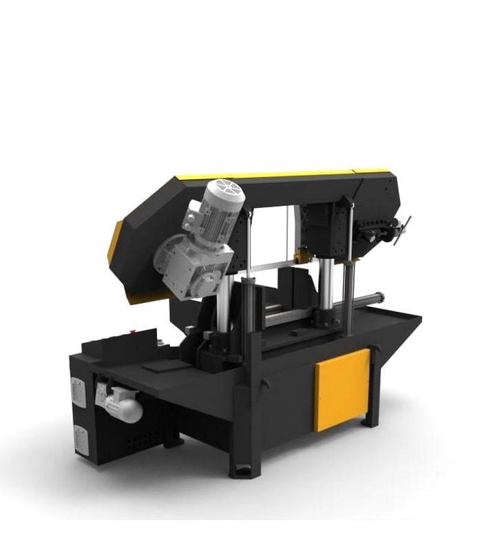 دستگاه اره نواری ستونی نیمه اتوماتیک KSY 400-600