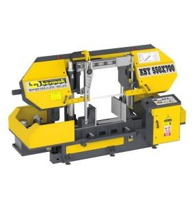 دستگاه اره نواری ستونی نیمه اتوماتیک KSY 550-700