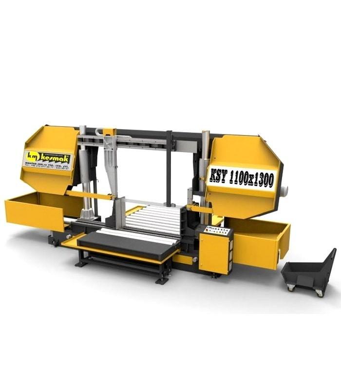 دستگاه اره نواری ستونی نیمه اتوماتیک KSY 1100 - 1300