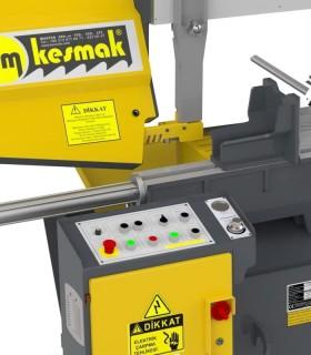 دستگاه اره نواری نیمه اتوماتیک زاویه زن KMY DG 400