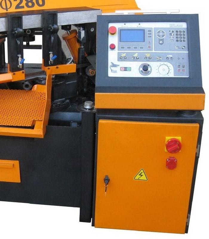 دستگاه اره نواری اتوماتیک زاویه زن SX-280RADP