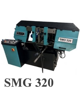 اره نواری بازویی نیمه اتوماتیک زاویه زن SMDG 320
