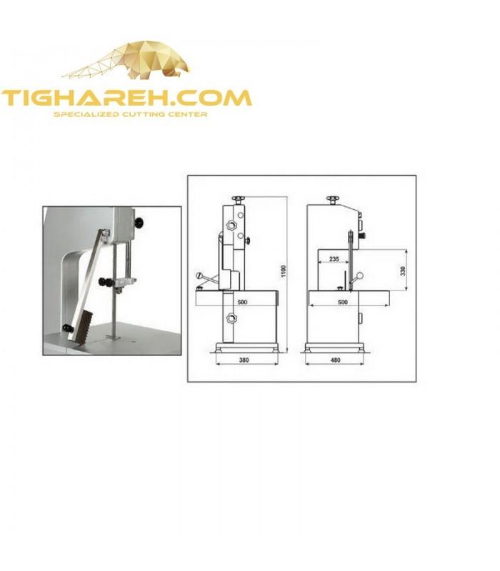 دستگاه اره نواری استخوان بر 210