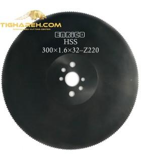 تیغ اره دیسکی HSS آهن بر ENRICO - 300×1.6×32-Z220