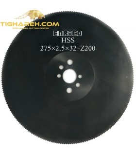 تیغ اره دیسکی HSS  آهن بر ENRICO - 275×2.5×32-Z200