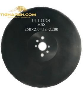تیغ اره دیسکی HSS  آهن بر ENRICO - 250×2.0×32-Z200