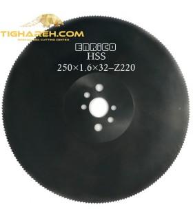 تیغ اره دیسکی HSS آهن بر ENRICO - 250×1.6×32-Z220